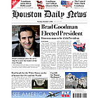 New President Fake Newspaper Page