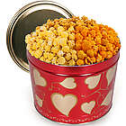Valentine's Day Hearts 2 Gallon Popcorn Tin