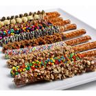 Gourmet Chocolate Dipped Pretzels