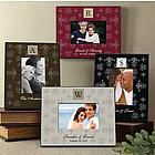 Initial Monogram Personalized Picture Frame