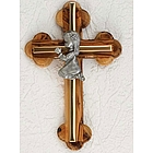 Baby Girl Olivewood Goldbar Cross