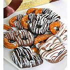 Triple Chocolate Dipped Pretzels
