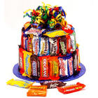 Candy Bar Fun Cake
