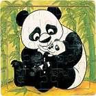 Panda & Cub Wooden Jigsaw Puzzle