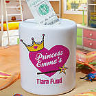 Personalized Tiara Fund Jar