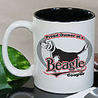Personalized Proud Owner of a Beagle Mug
