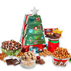 Chocolate Truffles and More Christmas Gift Tower