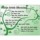 An Irish Blessing Postcard Set and Magnet