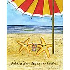 Starfish Beach Bums Fine Art Print