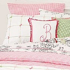 Pink Gingham Twin Duvet Cover