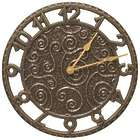 Flourish Indoor/Outdoor Wall Clock