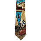 Carolina Panthers Nostalgia 2 Silk Tie