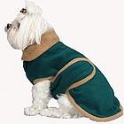 Personalized Two Tone Fleece Dog Coat
