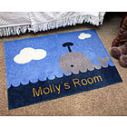 Whale Personalized Doormat