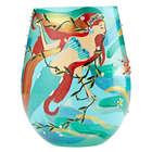 Mermaid Stemless Wine Glass