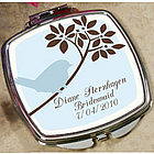 Personalized Bluebird Mirror Compact