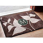 Leaves Growing Monogrammed Doormat