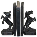 """Wild Horses"" Wood Bookends"