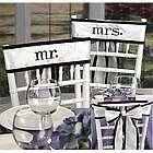 Mr. and Mrs. Chair Sash Set