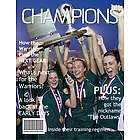 Champions Personalized Magazine Cover Digital Print