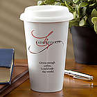 Personalized Porcelain Travel Eco-Tumbler