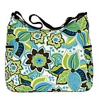 Designer Floral Hobo Diaper Bag