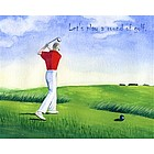 Round of Golf Fine Art Print