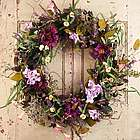 Windsor Silk Door Wreath