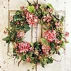 Genesee Silk Door Wreath