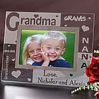 Grandma Engraved Glass Frame