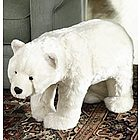 Polar Bear Footstool