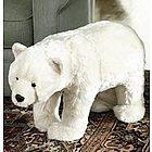 Polar Bear Footstool