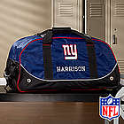 Personalized New York Giants Rolling Duffel Bag