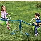 Spinning-Seesaw-and-Hop-Ball Outdoor Toy