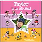 Pink I'm An All-Star Personalized Book