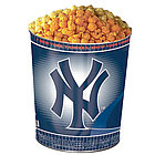 New York Yankees 3-Way Popcorn Tin