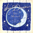 Personalized Sweet Dreams Plaque