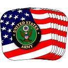 US Army Stars and Stripes Coasters