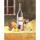 Wine Connoisseur Personalized Art