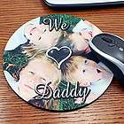 Personalized Photo Circular Mouse Pad
