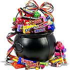 Witch's Cauldron Halloween Gift Basket