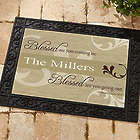You are Blessed Personalized Religious Doormat