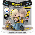 Pittsburgh Steelers Super Bowl Precious Moments Figurine