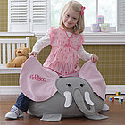 Personalized Elephant Bean Bag Chair