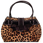 Talia Leopard Handbag Jewelry Box