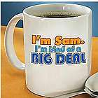 Personalized Big Deal Mug