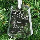 Remember Mom Ornament