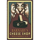 Personalized Vintage Cheese Shop Wood Sign