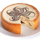 "6"" White Chocolate Swirl Cheesecake"