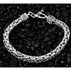 Men's Passion Sterling Silver Braided Bracelet